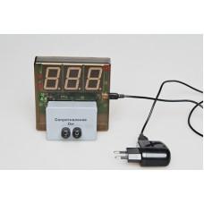 Датчик электрического сопротивления с независимой индикацией (омметр демонстрационный)