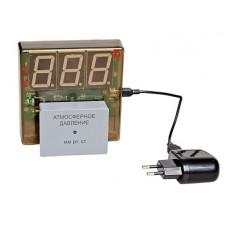 Датчик атмосферного давления с независимой индикацией (барометр демонстрационный)