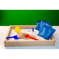 Игровой набор для экспериментов с песком
