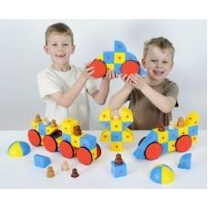 Набор Полидрон Магнитные блоки 3D (комплект на группу)