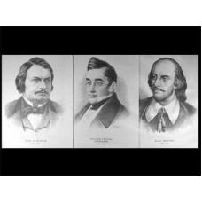 Портреты писателей (37 шт, ф А3)