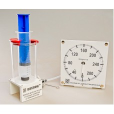 Прибор для изучения газовых законов (с манометром)