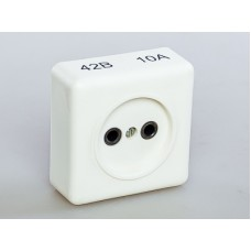 Розетка электрическая 42В 10А