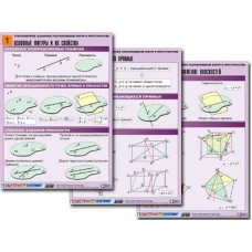 Комплект таблиц по геометрии